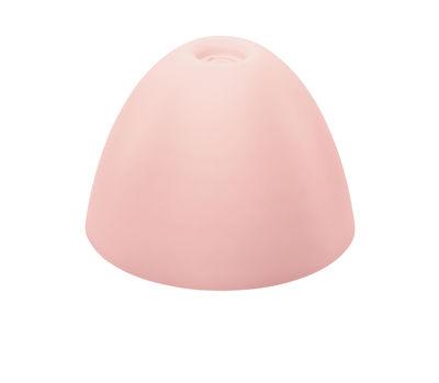 Abat-jour Stella Small / Ø 25,5 cm - Koziol rose poudré en matière plastique
