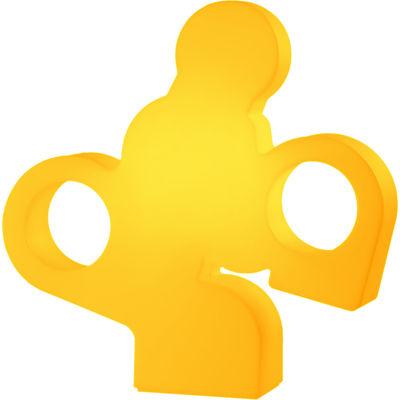 Lampe There / L 100 x H 100 cm - Slide orange en matière plastique