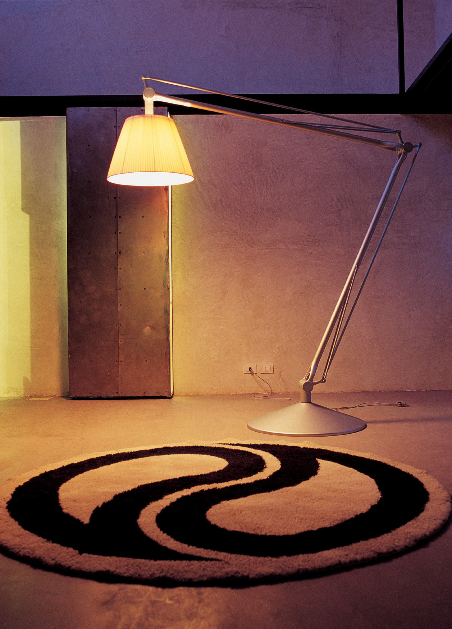 Superarchimoon floor lamp grey by flos made in design uk aloadofball Image collections