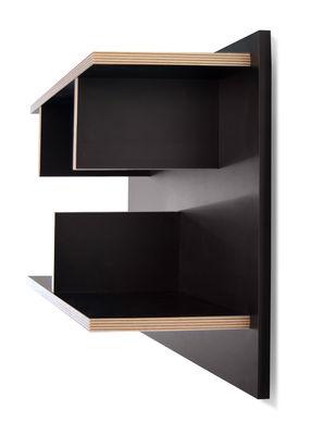 etag re rack l 60 x h 45 cm noir tranches bois pop up home made in design. Black Bedroom Furniture Sets. Home Design Ideas