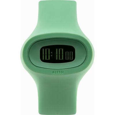 Montre Jak Unisexe Alessi Watches vert en matière plastique