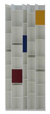 Mobilier - Etagères & bibliothèques - Kit décoration Box A-B-C / Pour bibliothèques Random - MDF Italia - Rouge , Bleu , Jaune - Fibre artificielle, Fibre de bois