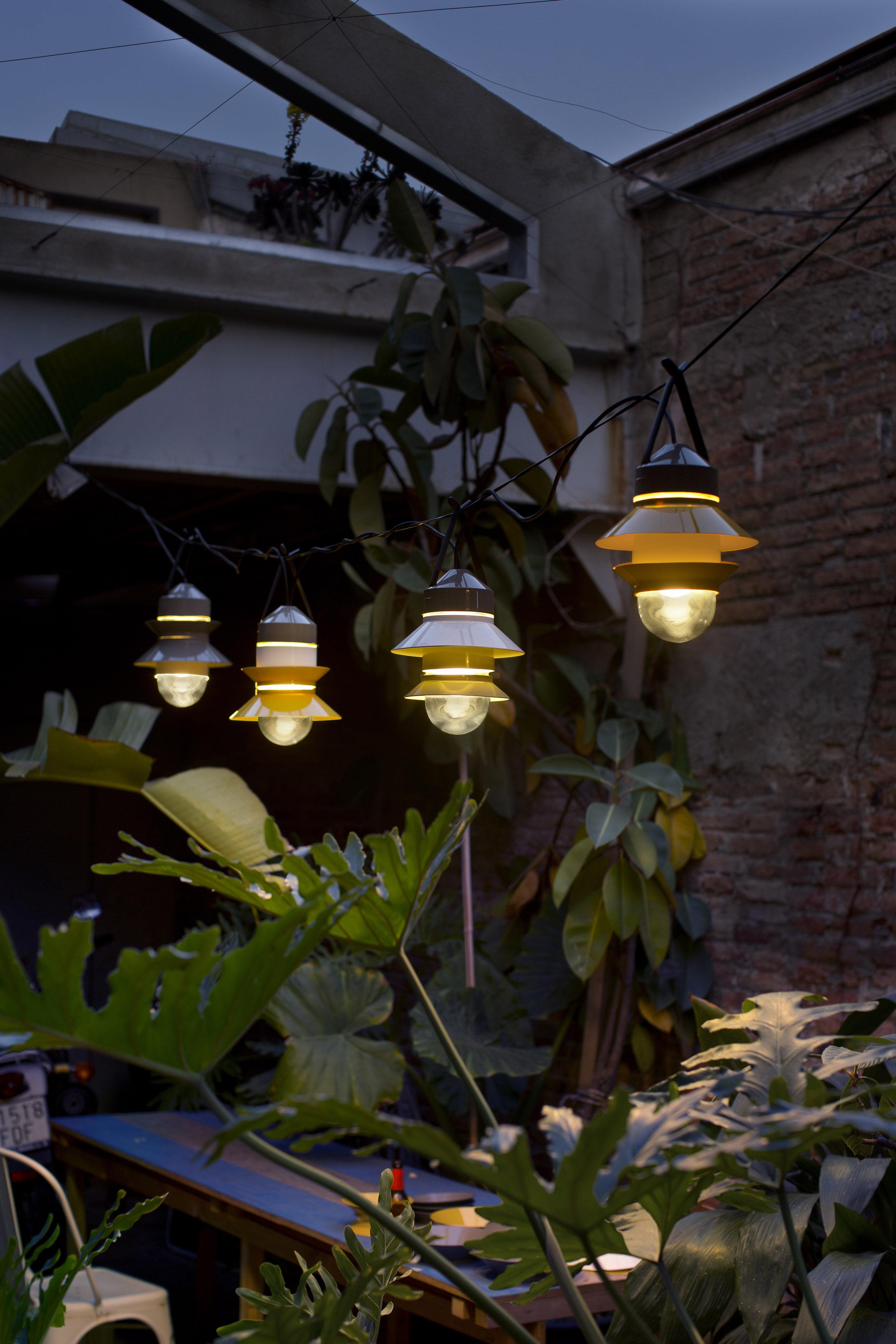 Santorini Lamp To hang Mustard yellow by Marset