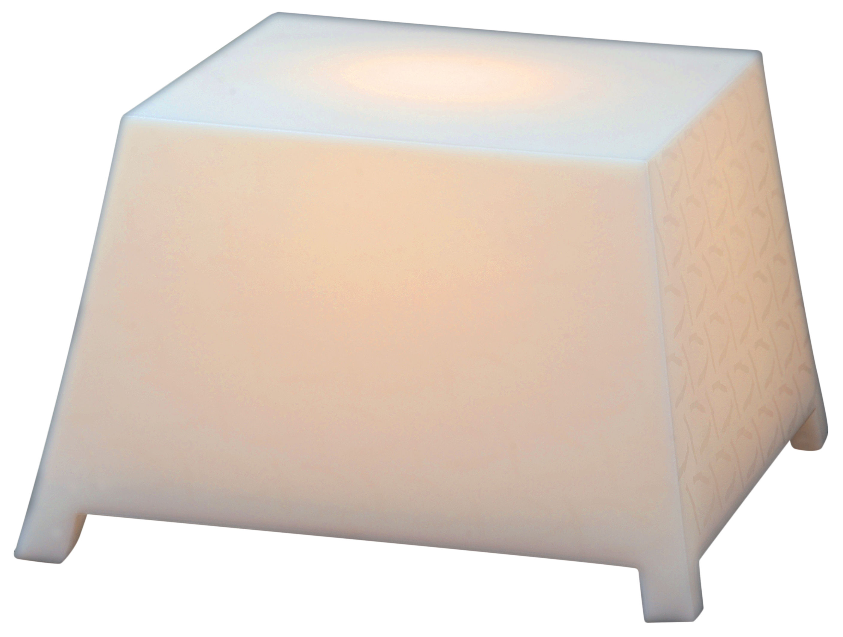 Table basse lumineuse raffy outdoor pour l 39 int rieur l for Table exterieur lumineuse