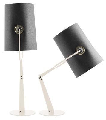 Lampe de table Fork Modèle d'exposition Diesel with Foscarini gris,ivoire en tissu