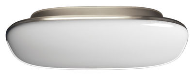 Tivu Wandleuchte Deckenleuchte - L 40,5 cm x H 23 cm - Foscarini - Weiß