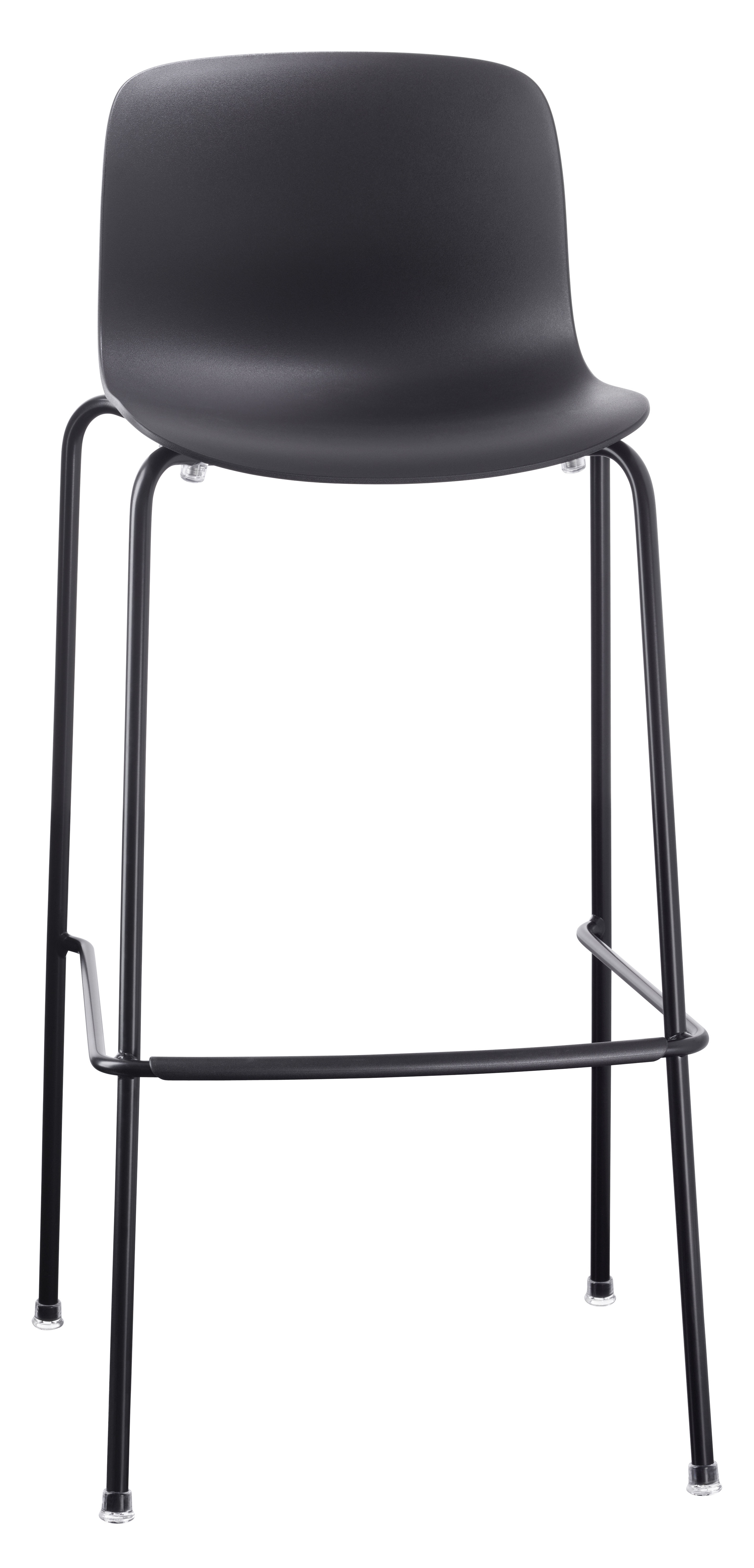tabouret de bar troy outdoor plastique pieds m tal h. Black Bedroom Furniture Sets. Home Design Ideas