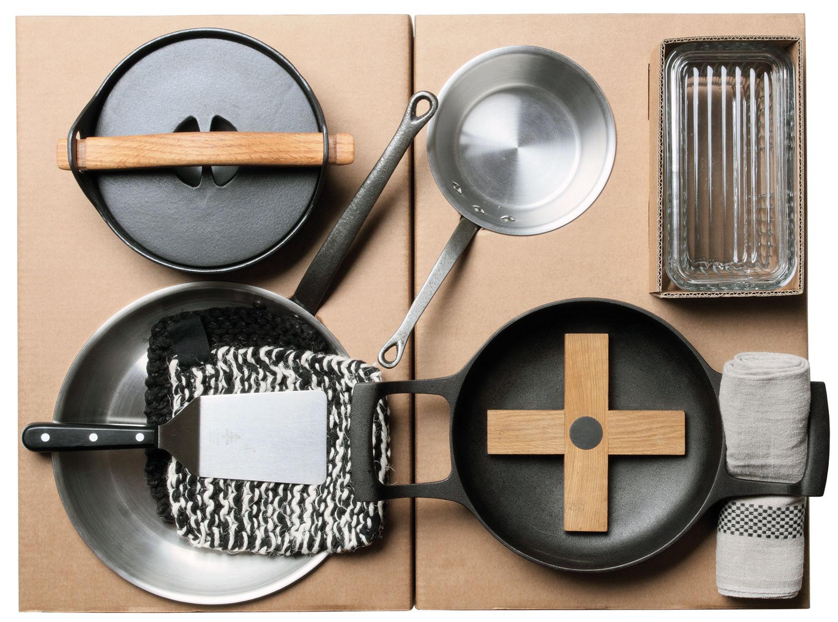 set ustensiles de cuisine malle w trousseau complet 43 pi ces d coupe cuisson et. Black Bedroom Furniture Sets. Home Design Ideas