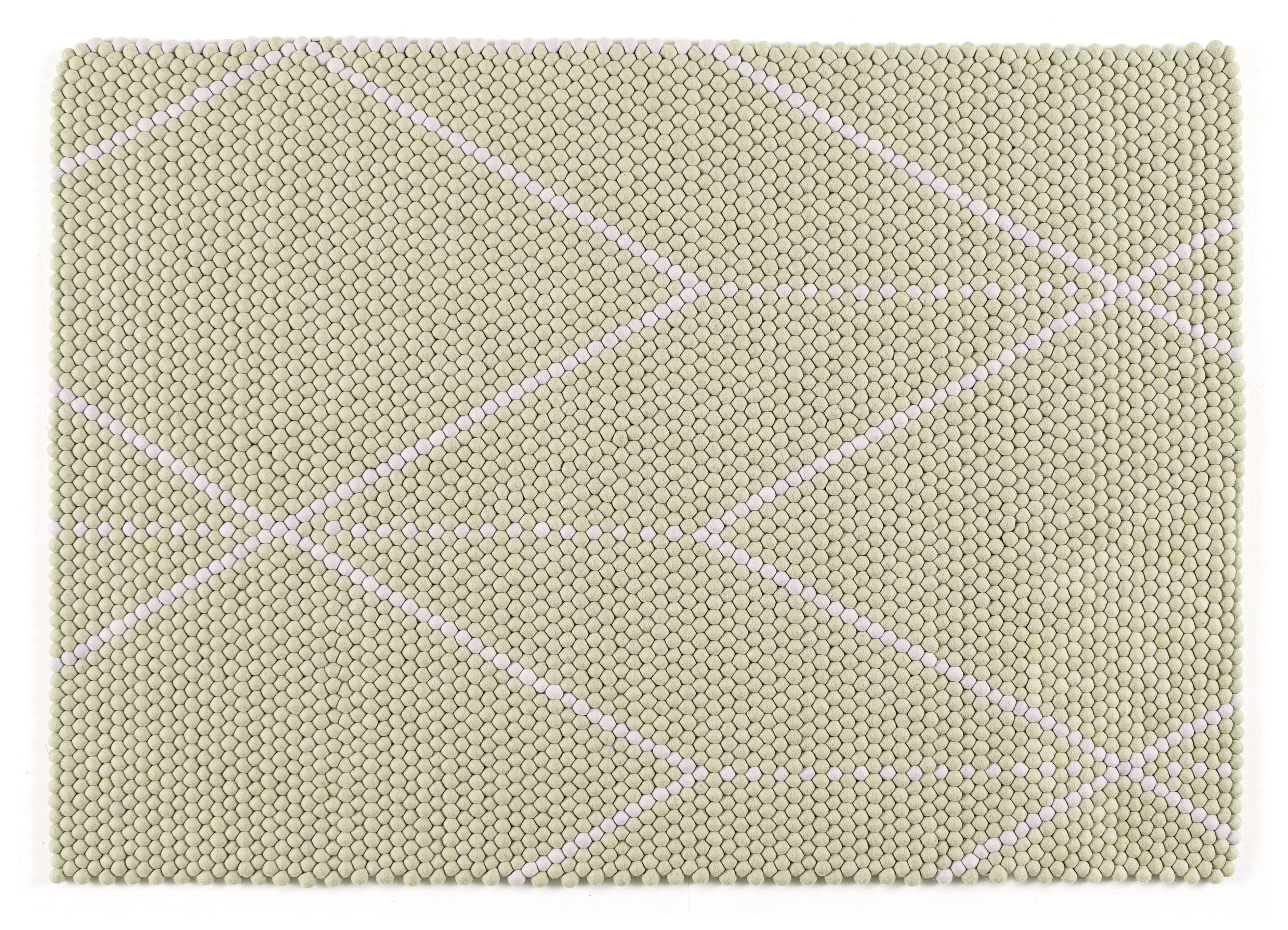 tapis s b dot 170 x 120 cm mauve vert clair hay. Black Bedroom Furniture Sets. Home Design Ideas