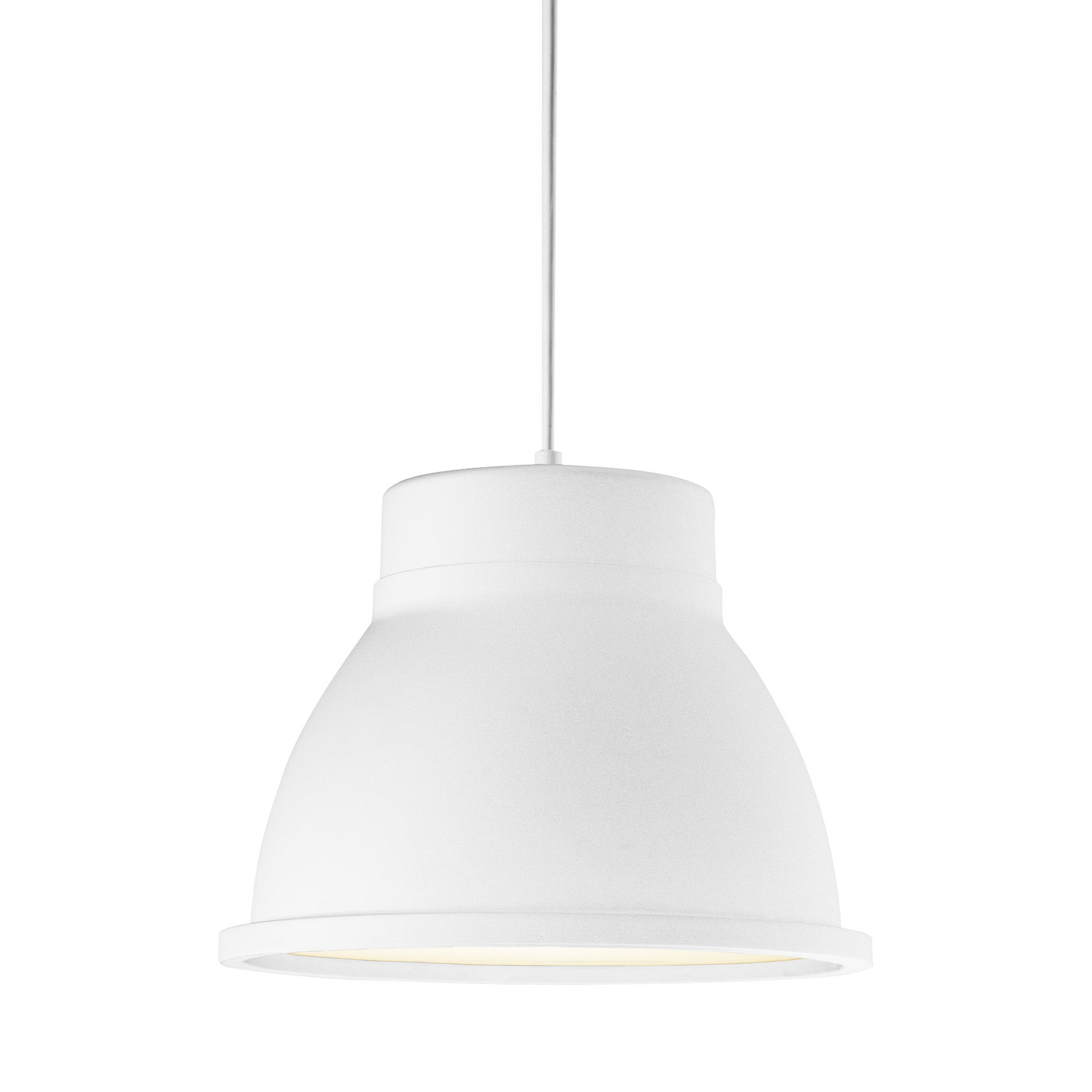 studio pendant suspension white by muuto. Black Bedroom Furniture Sets. Home Design Ideas