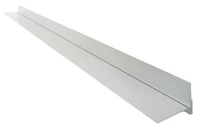Foto Scaffale Web Stopper - / L 300 cm di Casamania - Bianco - Metallo