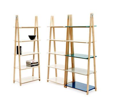 etag re one step up h 200 cm bois tablettes blanc. Black Bedroom Furniture Sets. Home Design Ideas