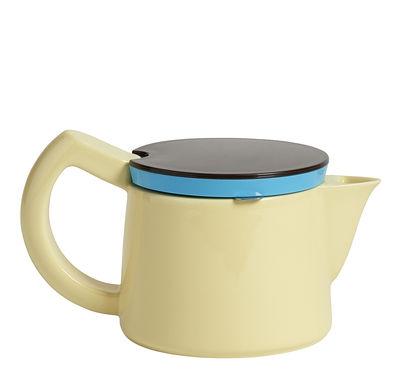 Cafetière à filtre manuelle / Small - 0,45 L - Hay bleu,noir,jaune clair en céramique