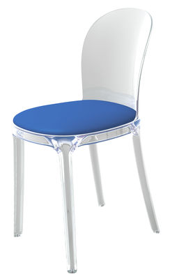 Furniture   Chairs   Vanity Chair Padded Chair   Transparent Polycarbonate  U0026 Fabric By Magis
