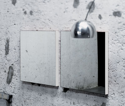 Furniture - Mirrors - Giano Wall mirror - Wall version by Glas Italia - Lacquered black - Glass