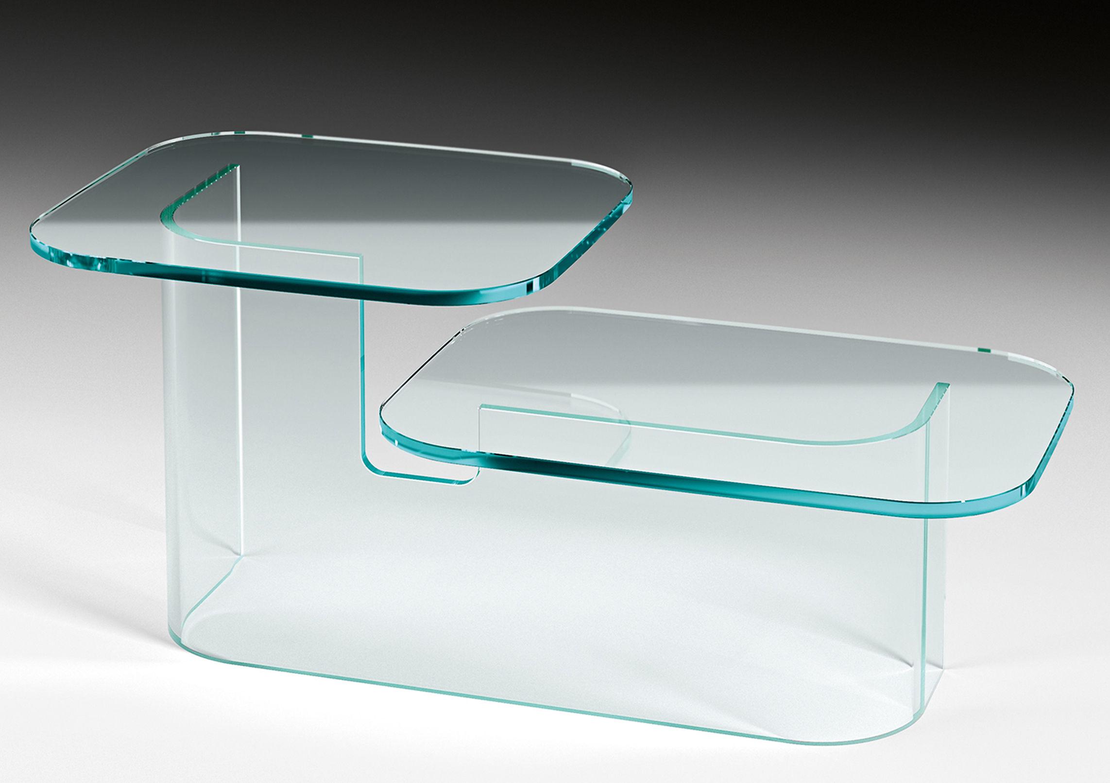Scopri tavolino paesaggi side 2 piani trasparente di for Nuovi piani domestici