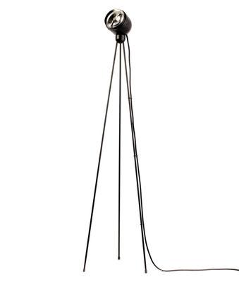 Foto Lampada a stelo Tripod 180° - / LED di Azimut Industries - Nero - Metallo