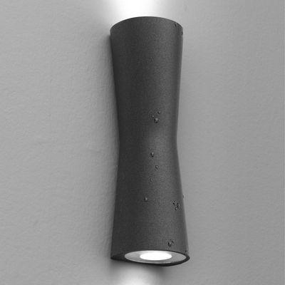applique clessidra 40 led int rieur ext rieur gris anthracite flos. Black Bedroom Furniture Sets. Home Design Ideas