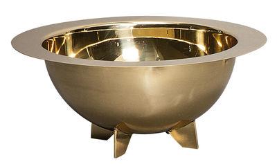 Arts de la table - Saladiers, coupes et bols - Saladier Cosmic Diner - Lunar / Ø 34 cm - Diesel living with Seletti - Laiton brillant - Laiton