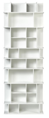 Libreria Panorama High / L 60 x H 168 cm - POP UP HOME - Bianco opaco - Legno