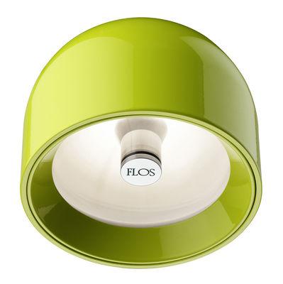 Illuminazione - Lampade da parete - Applique Wan - Plafoniera di Flos - Verde - Alluminio
