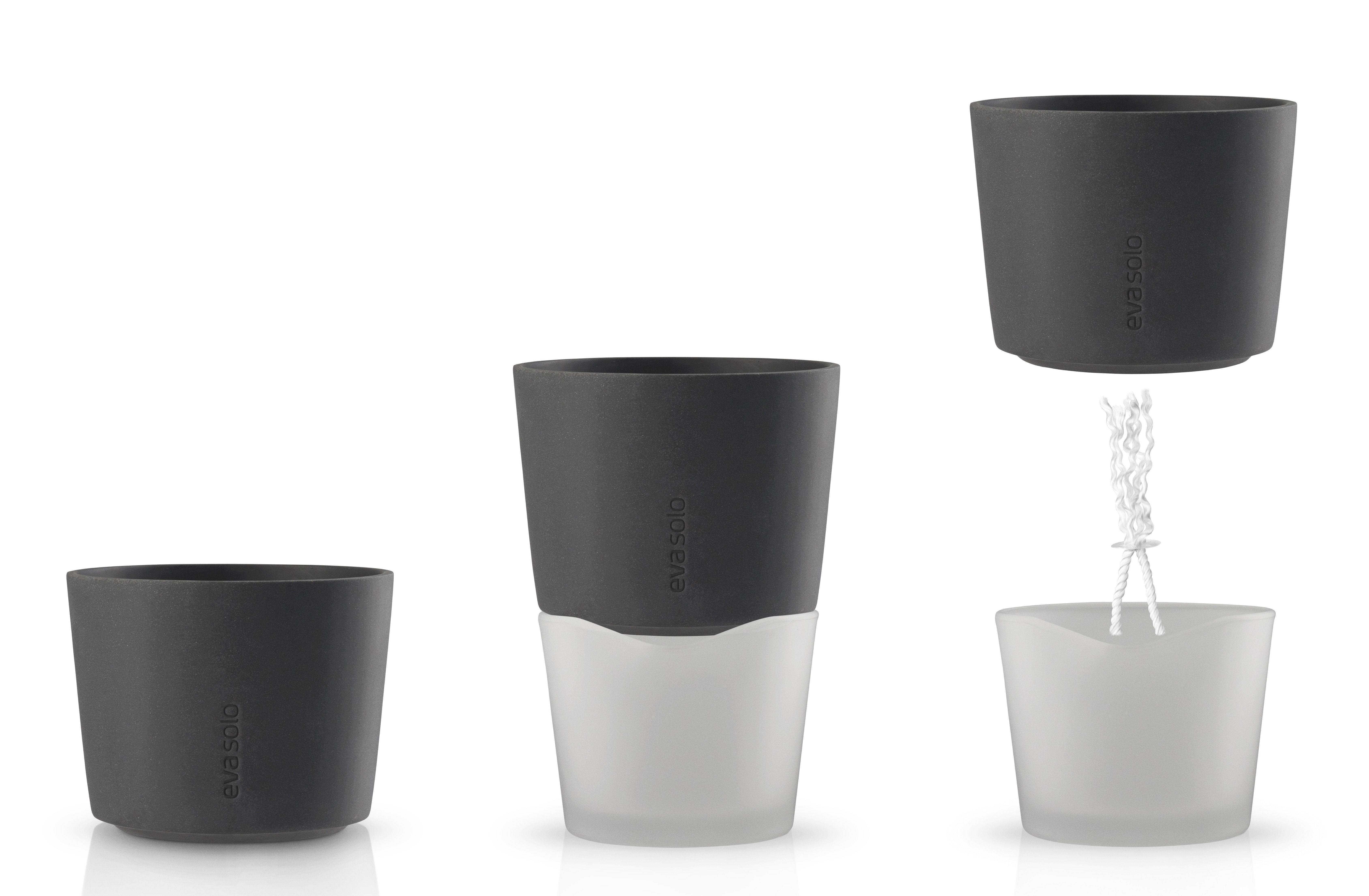 mit wasserreservoir 13 cm polypropylen eva solo blumentopf mit wasserreservoir. Black Bedroom Furniture Sets. Home Design Ideas