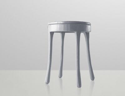 Scopri sgabellino raw grigio scuro di muuto made in design italia