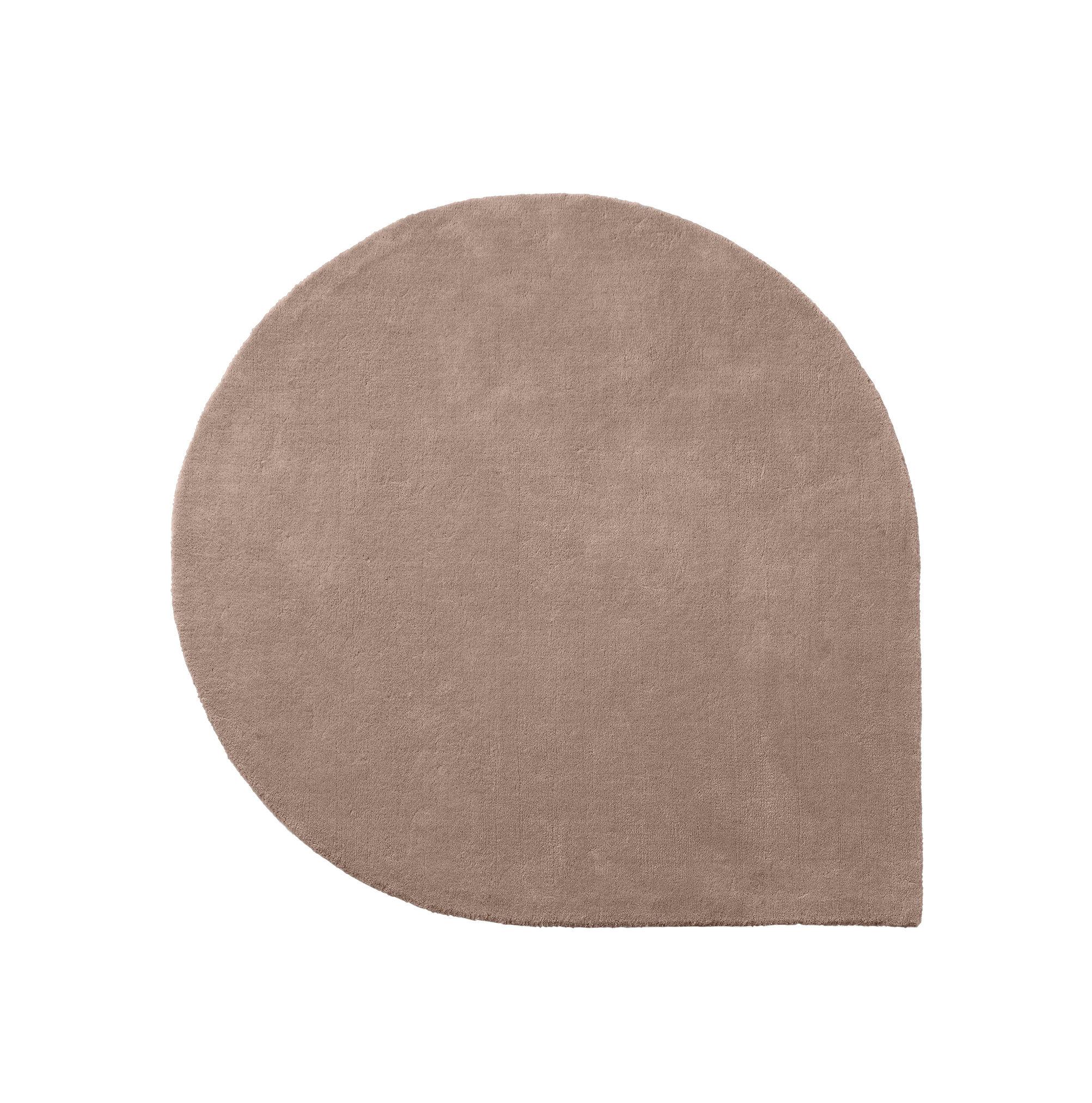 Tapis stilla 160 x 130 cm tuft main rose ancien - Made in design tapis ...