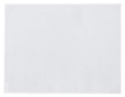 Set de table / 35 x 45 cm - Fermob blanc coton en tissu