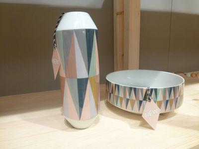 Vase spear multicolore vase ferm living for Ferm living vase