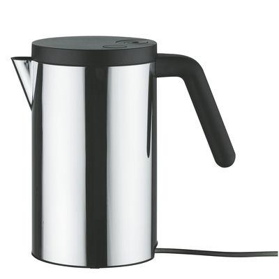 Bouilloire électrique Hot.it 80 cl - Alessi noir,métal brillant en métal