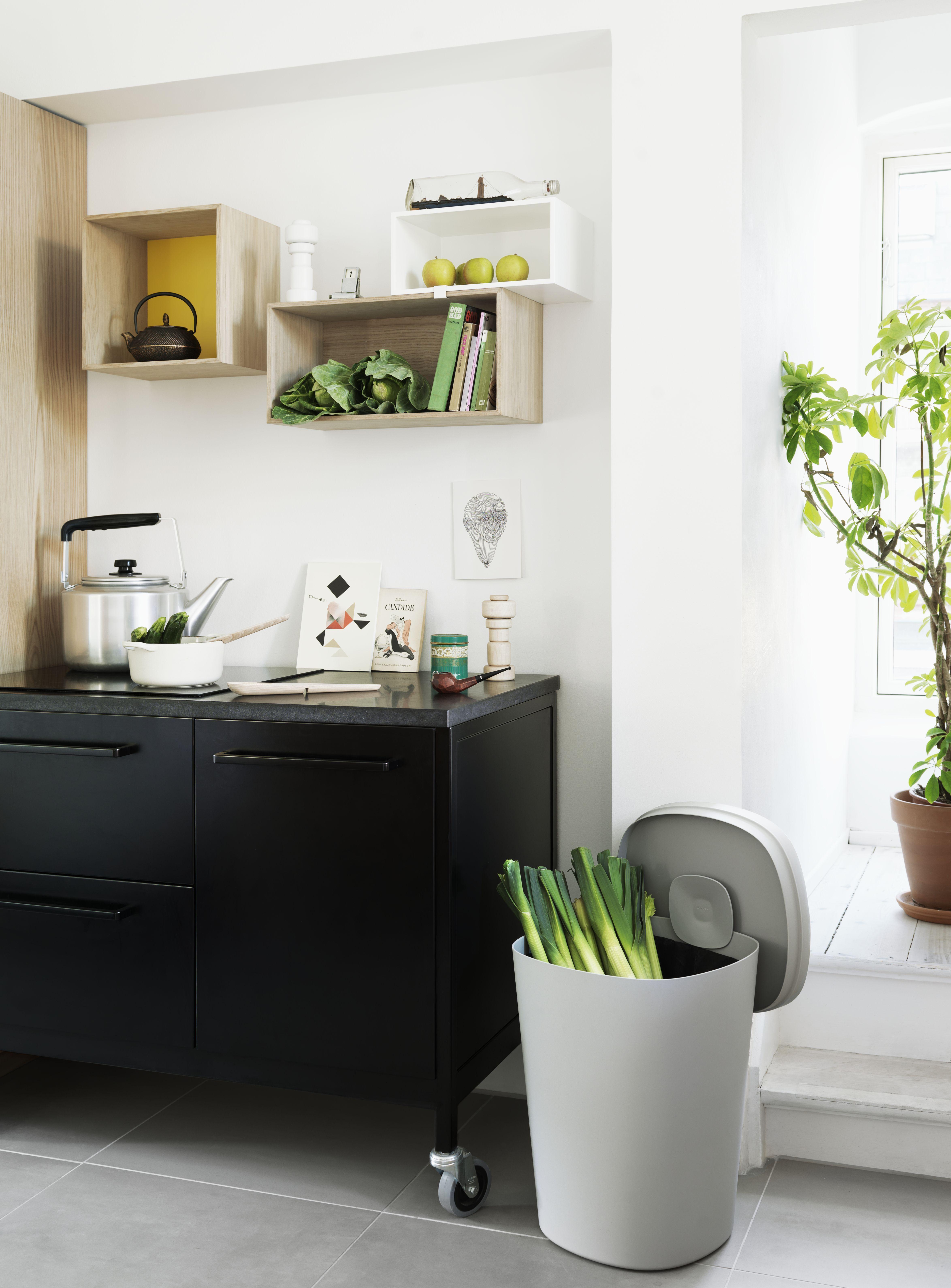 hideaway w schekorb 45 liter muuto m lleimer. Black Bedroom Furniture Sets. Home Design Ideas