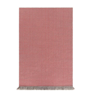 Tapis Garden Layers 90 x 200 cm Tissé main Gan rouge,beige en tissu