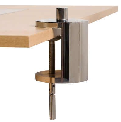 Image of Base con morsa - pour lampe Anglepoise di Anglepoise - Cromato - Metallo