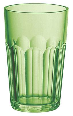 Tavola - Bicchieri  - Bicchiere da long drink Happy Hour di Guzzini - Verde - Plastica SAN