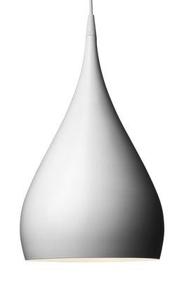 Foto Sospensione Spinning BH1 - ø 25 x H 46 cm di &tradition - Bianco - Metallo