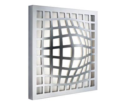 Foto Applique Kwark - LED di Fabbian - Alluminio - Metallo