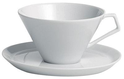Tasse à thé Anatolia Driade Kosmo Blanc en Céramique