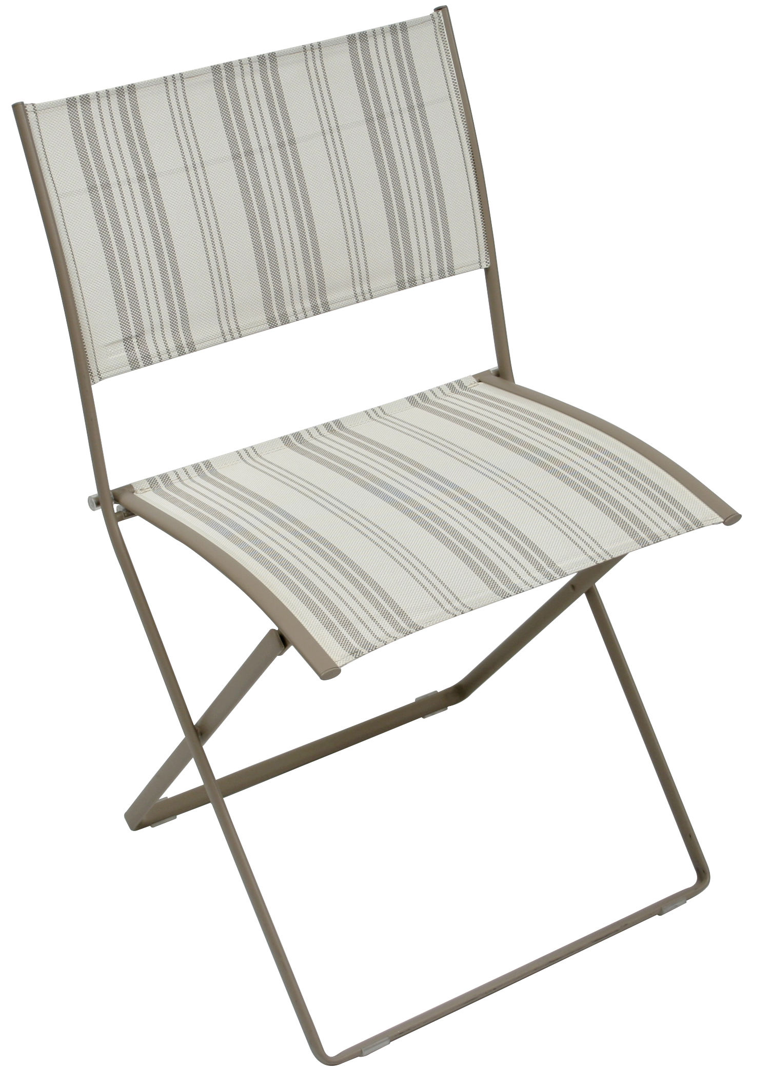 chaise pliante plein air toile toile matelas fermob. Black Bedroom Furniture Sets. Home Design Ideas