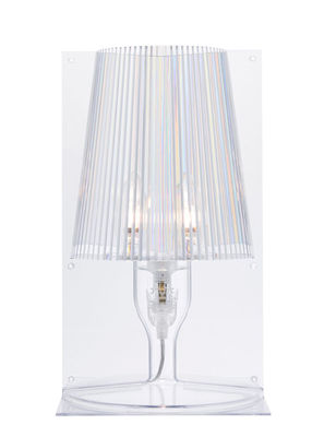 Lighting - Table Lamps - Take Table lamp by Kartell - Crystal - Polycarbonate