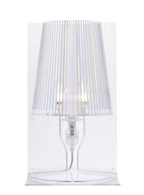Illuminazione - Lampade da tavolo - Lampada da tavolo Take di Kartell - Trasparente - policarbonato