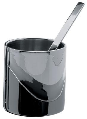 Sucrier Jean Nouvel - Alessi acier en métal