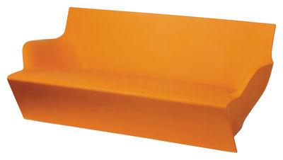 Sofà Kami Yon di Slide - Arancione - Materiale plastico