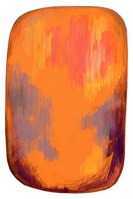 Tapis Scribble / 300 x 200 cm - Moooi Carpets orange en tissu