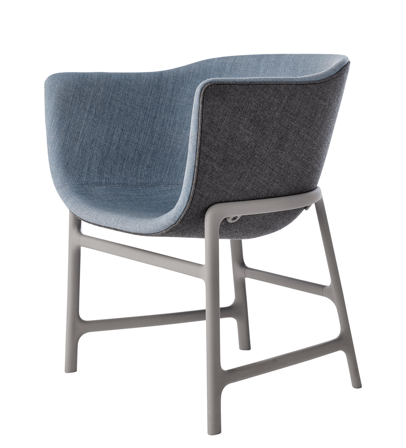 Minuscule stoffbezug kunststoff fritz hansen for Sessel kunststoff design