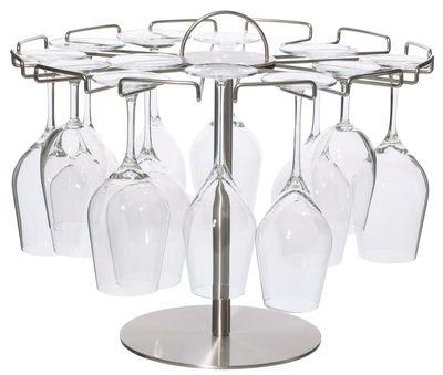 Egouttoir L´arbre à Verres / Présentoir 18 verres - L´Atelier du Vin acier en métal