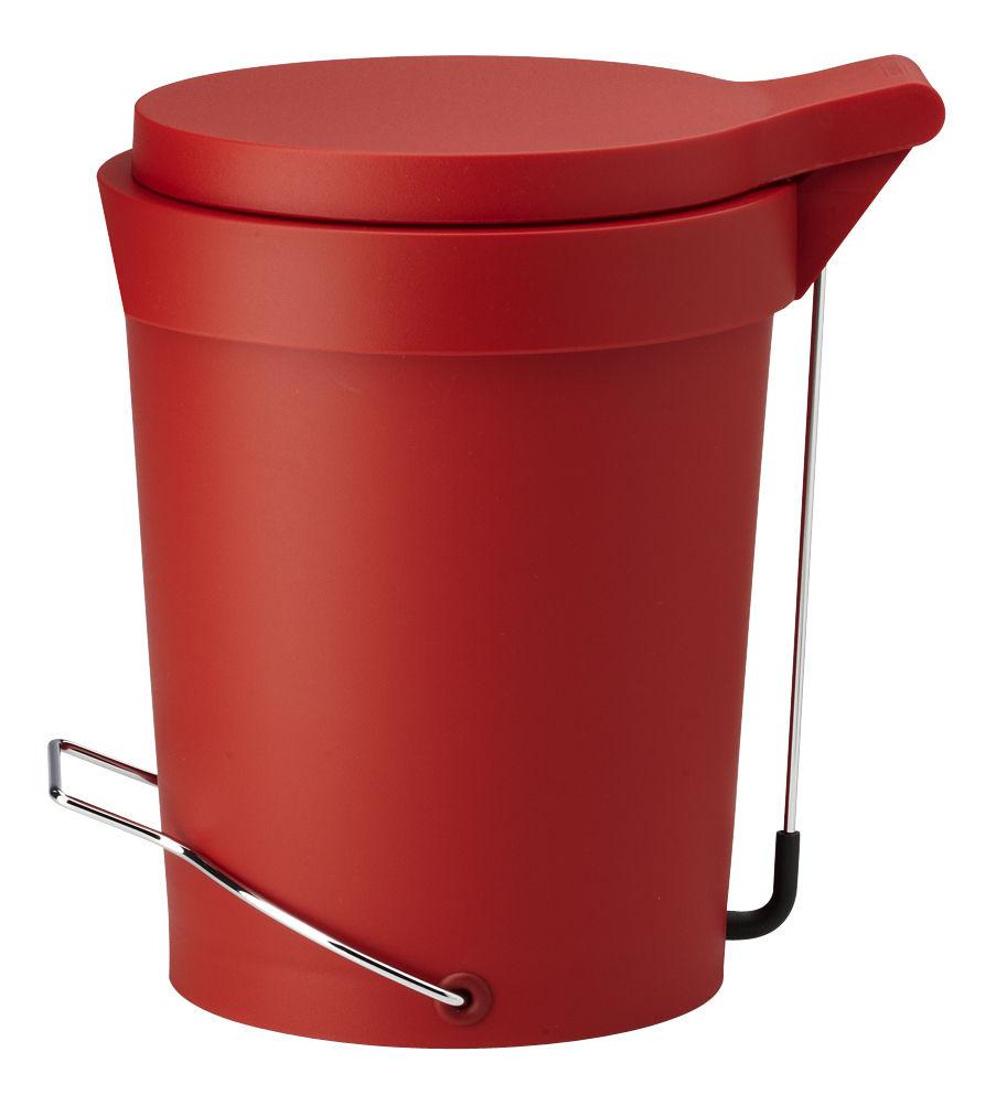 poubelle p dale tip 15 litres rouge fonc authentics. Black Bedroom Furniture Sets. Home Design Ideas