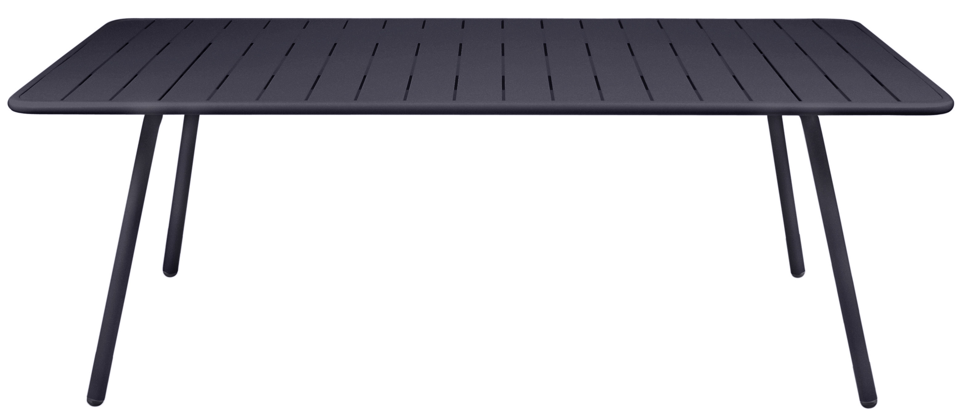 Luxembourg table rectangular 8 persons l 207 cm for Fermob luxembourg table
