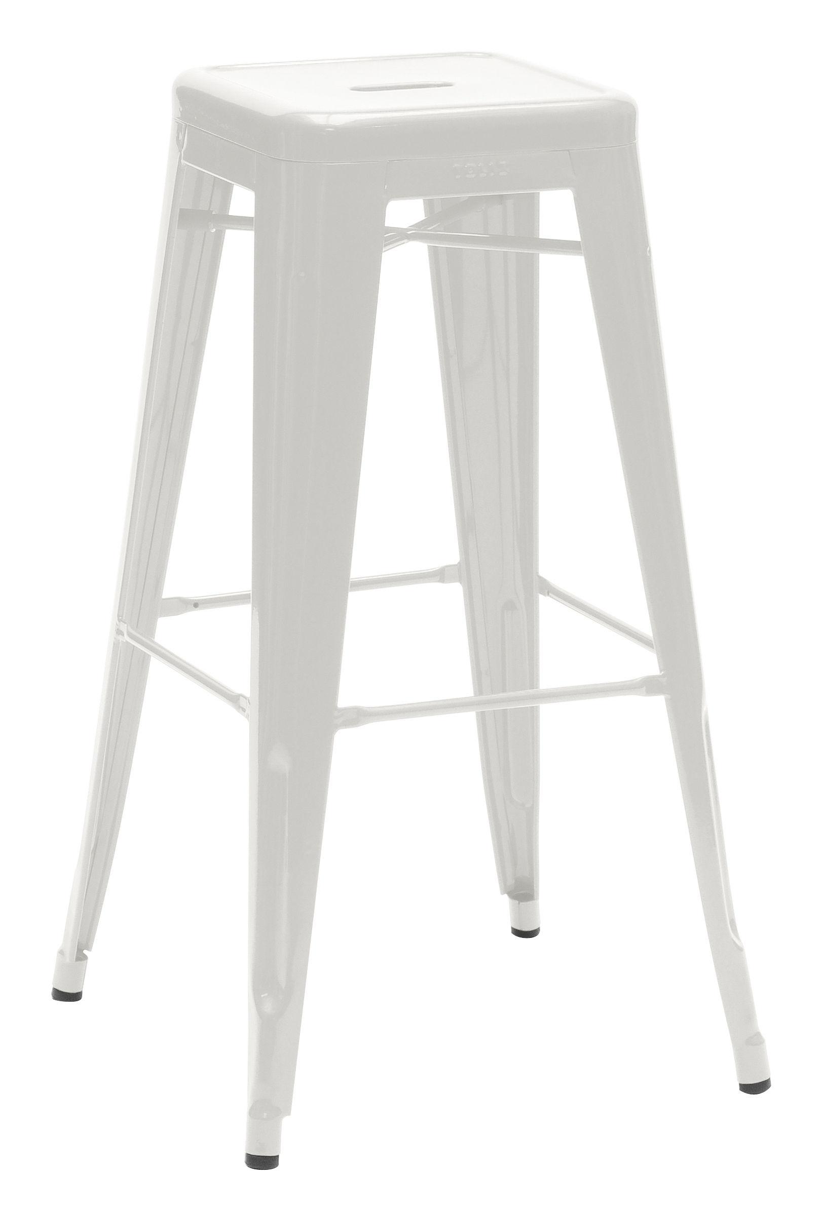 tabouret de bar h h 75 cm couleur mate le corbusier gris clair 31 tolix. Black Bedroom Furniture Sets. Home Design Ideas
