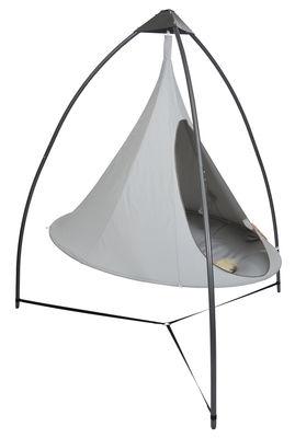 Mobilier - Portemanteaux, patères & portants - Structure autoportante Acier / Pour suspendre tentes Cacoon - Cacoon - Gris anthracite - Acier